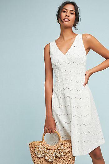 Little White Dresses | Anthropologie