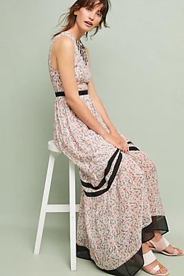 Slide View: 1: Parida Floral Maxi Dress