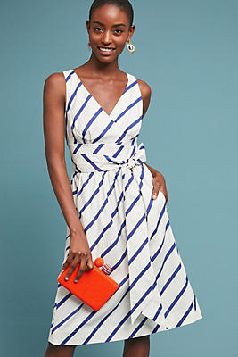 Slide View: 1: Farida Belted Dress