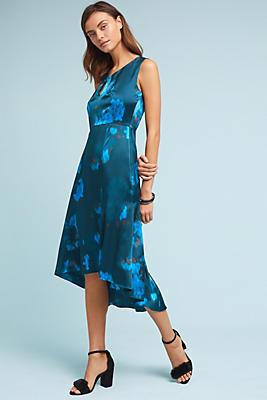 Slide View: 1: Tracy Reese Asymmetrical Silk Dress