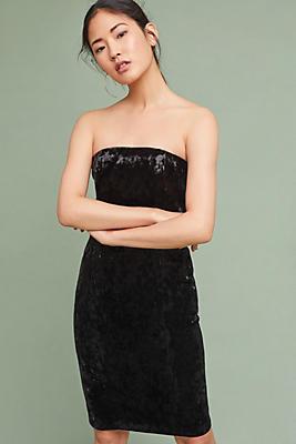 Slide View: 1: Tracy Reese Strapless Velvet Dress