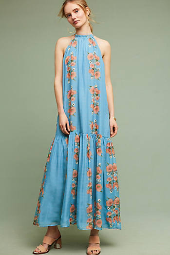 Neoma Silk Maxi Dress
