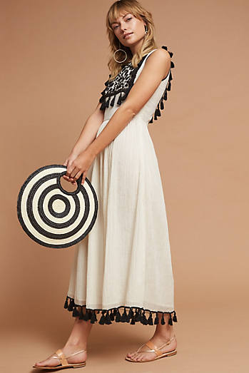 Imogen Embroidered Midi Dress