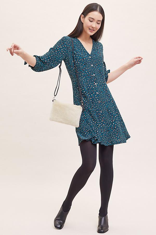 Kachel Leopard-Print Tea Dress - Assorted, Size Uk 6