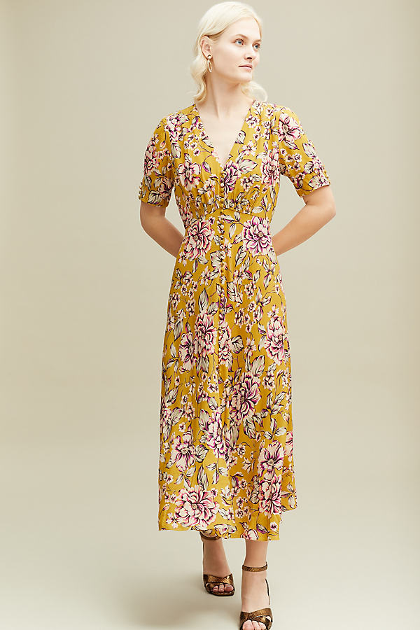 Kachel Thea Floral Dress - Assorted, Size Uk 14