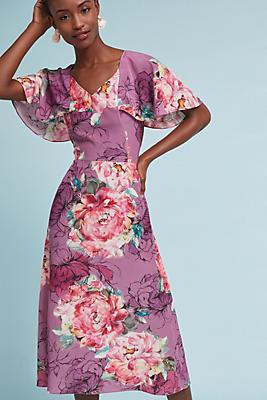 Slide View: 1: Galena Silk Dress