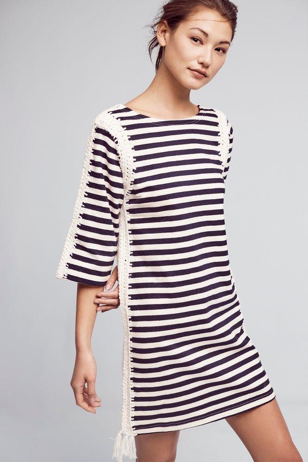 Pepin Nautical Patchwork Tunic Dress
