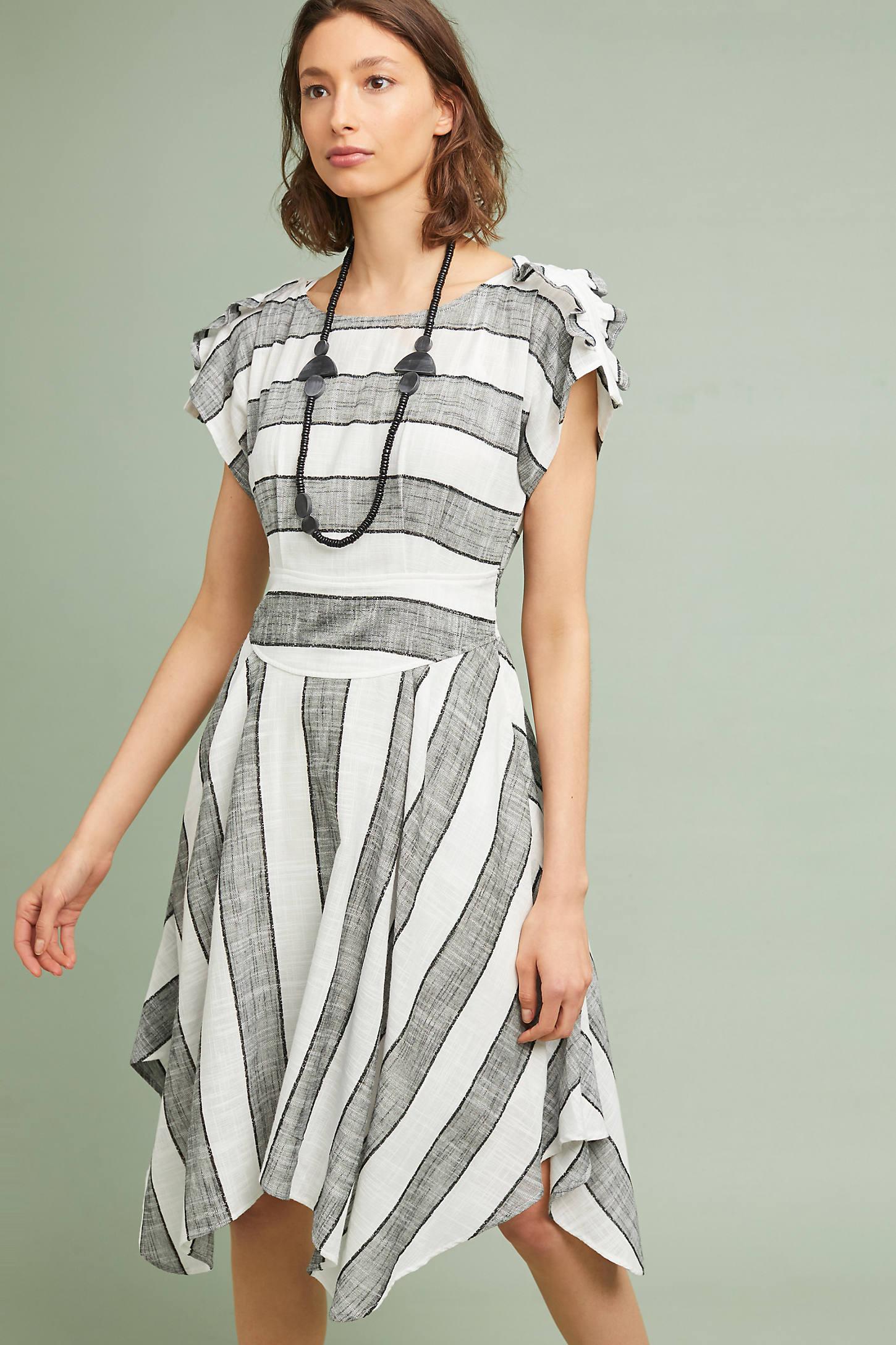 Margaret Striped Dress
