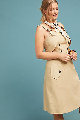 Slide View: 1: Trench Dress
