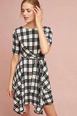 Slide View: 1: Rienne Plaid Dress