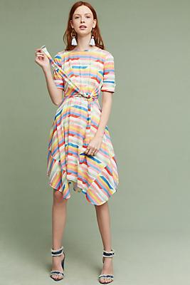 Slide View: 1: Carrie Tie-Waist Dress