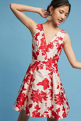 Slide View: 1: Rose Relief Dress