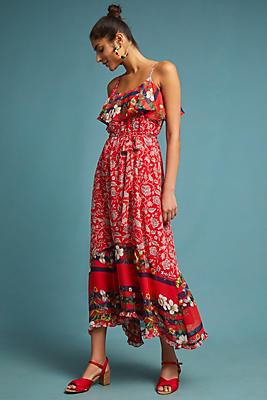 Slide View: 1: Zuri Midi Dress