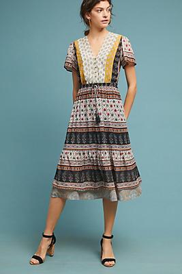 Slide View: 1: Provencal Midi Dress