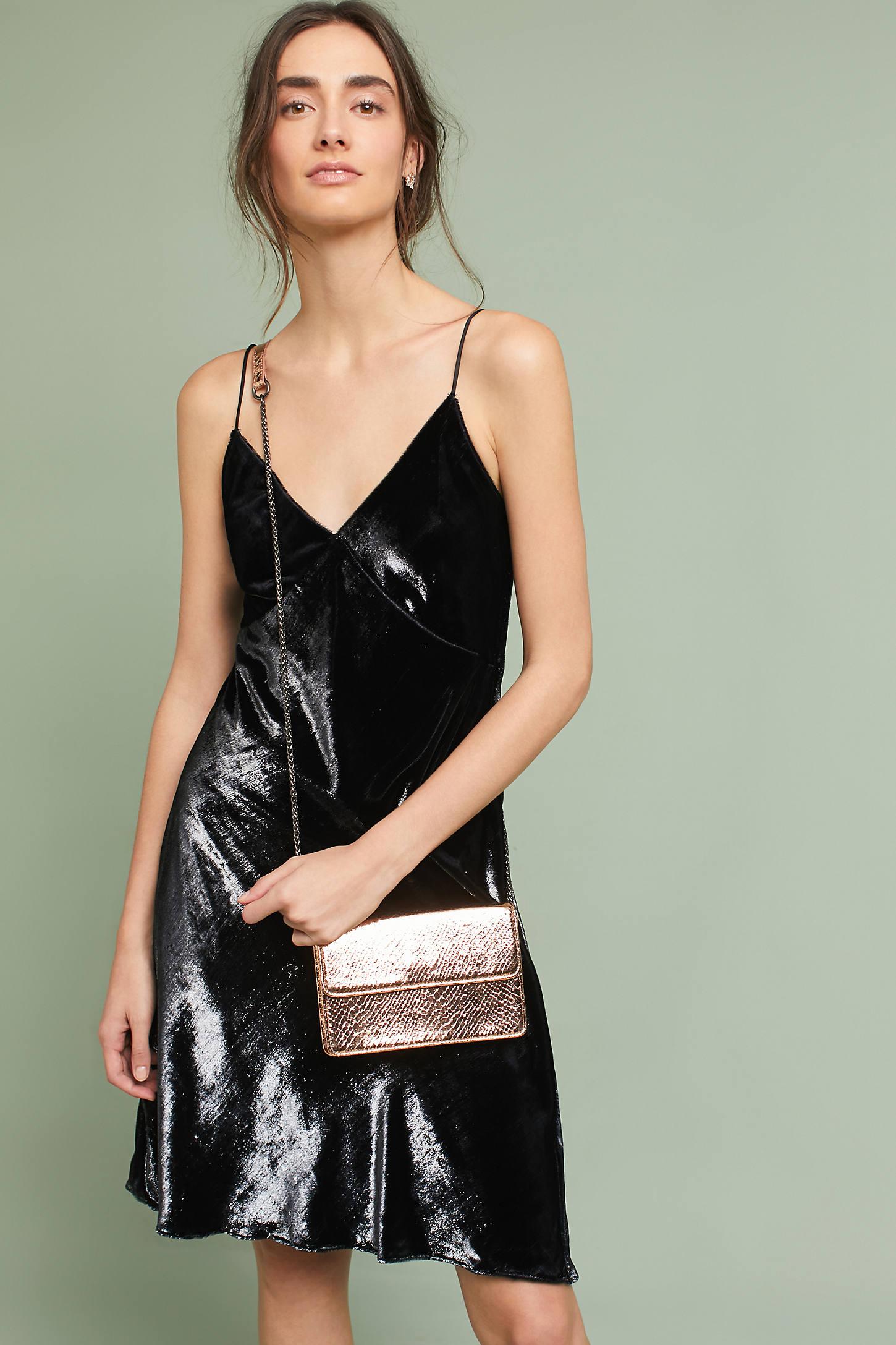 Mira Velvet Wrap Dress