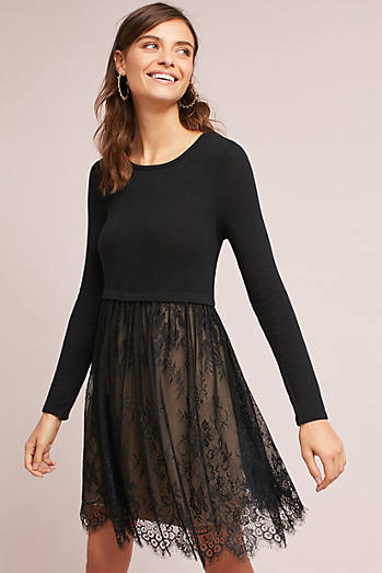 Layered Lacework Dress