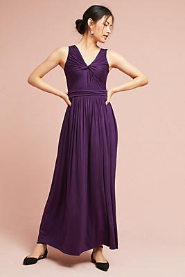 Slide View: 2: Knotted Knit Maxi Dress