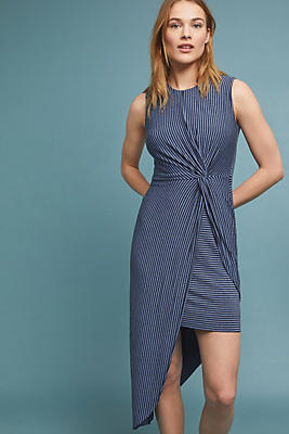 Slide View: 1: Striped Knit Dress