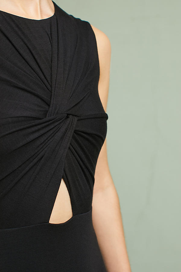 Slide View: 2: Melda Knotted Cutout Dress