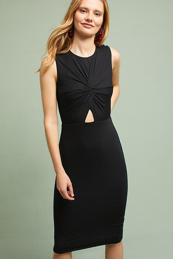 Slide View: 3: Melda Knotted Cutout Dress