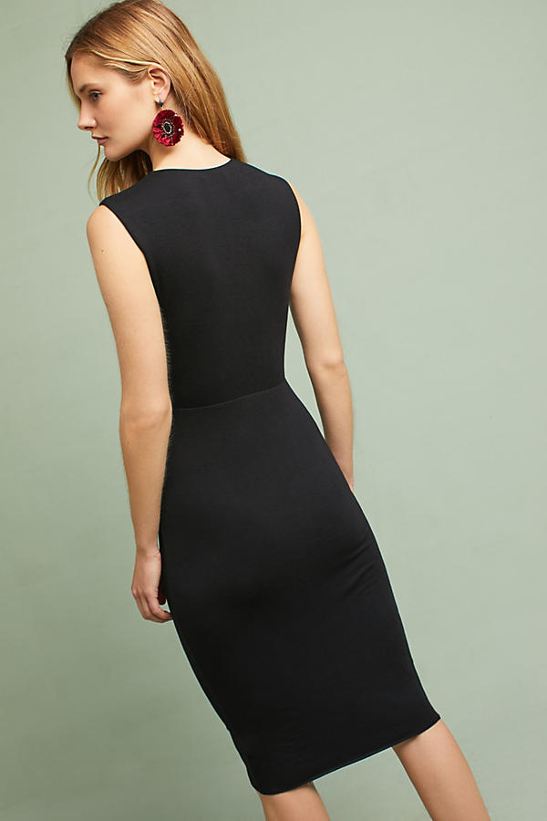 Slide View: 4: Melda Knotted Cutout Dress