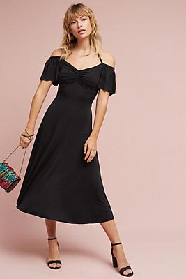 Slide View: 1: Sweetheart Midi Dress
