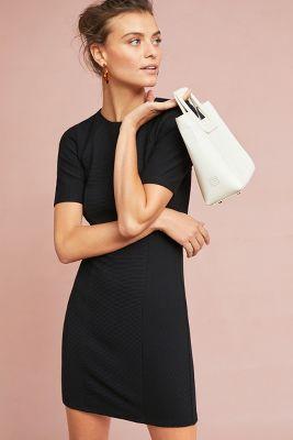 Dolan Left Coast   Ottoman Slim Dress  -    BLACK