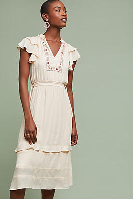 Slide View: 1: Mia Embroidered Dress