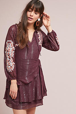 Amber Embroidered Dress by Dolan Left Coast