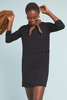 Slide View: 1: Michaela Knit Tunic Dress