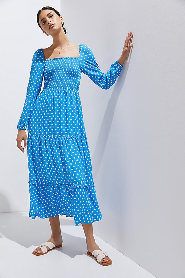 Dolan Left Coast Laney Polka Dot Maxi Dress