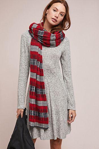 Neige Brushed Fleece Dress