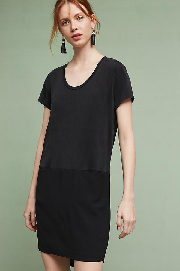Loren Tunic Dress - Black, Size Xs