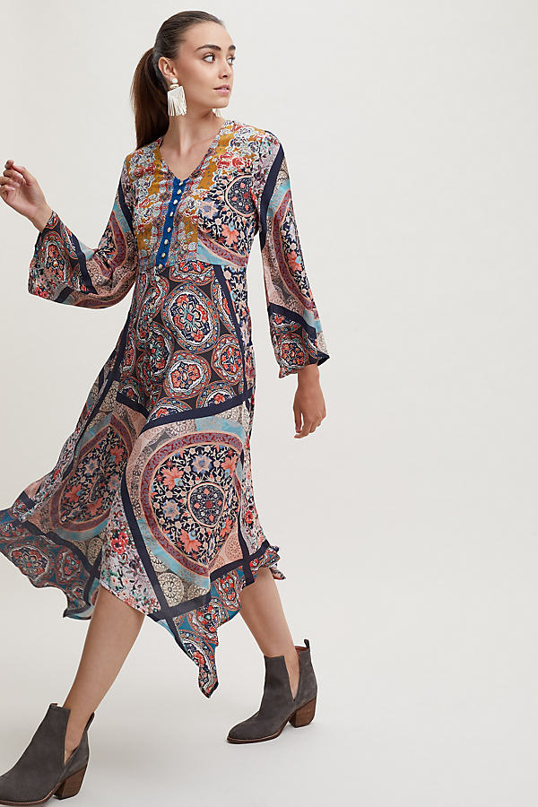 Clara Printed Dress - Assorted, Size S