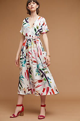 Slide View: 1: Maui Palm Dress