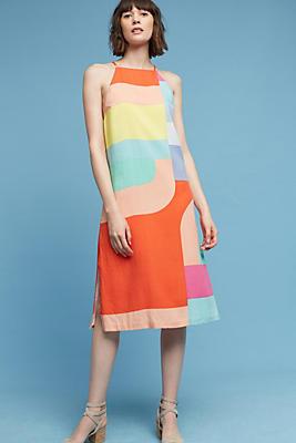 Slide View: 1: Maceio Geo Midi Dress