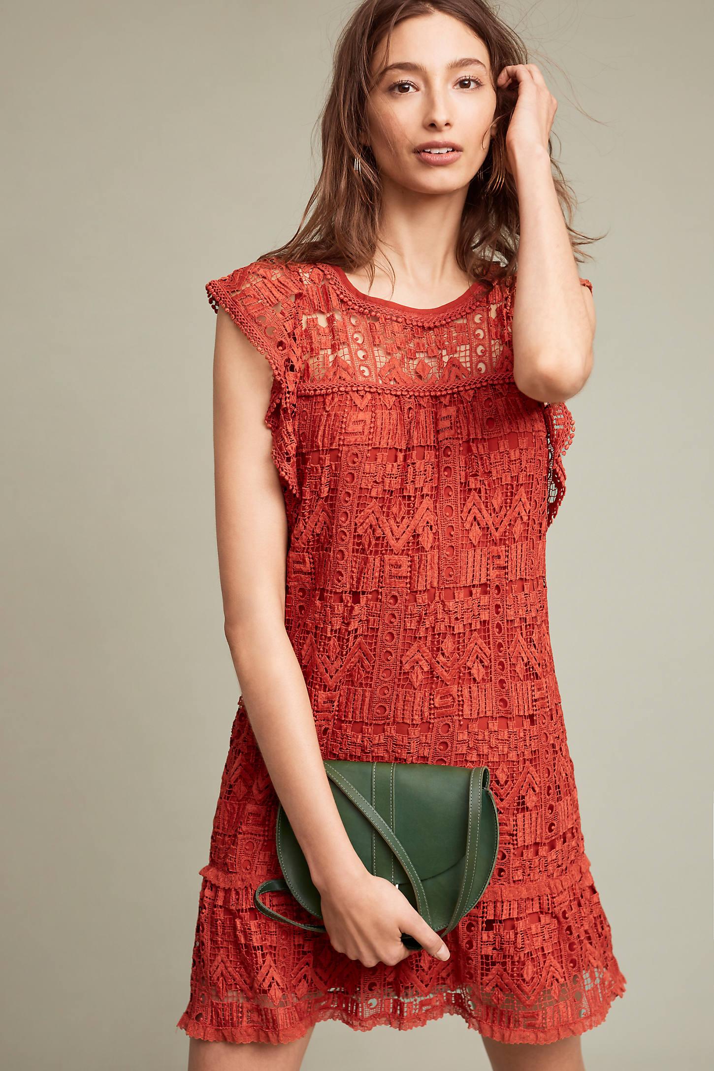 Brindisi Lace Tunic Dress