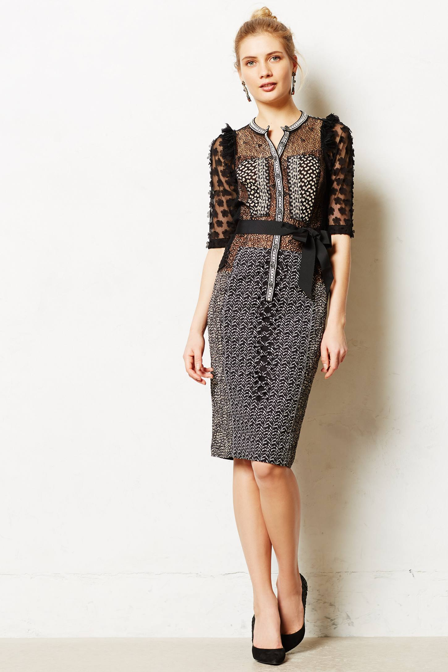 anthropologie warehouse sale allusione sheath anthropologie 10049