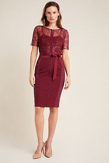 byron lars carissima sheath dress