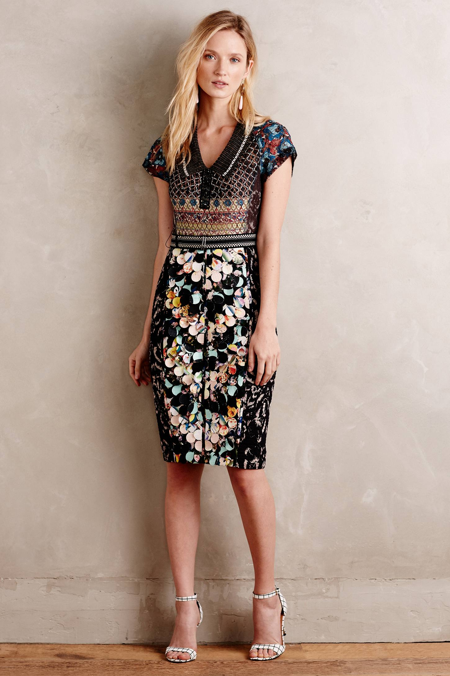 Paillette Dress by Anthropologie