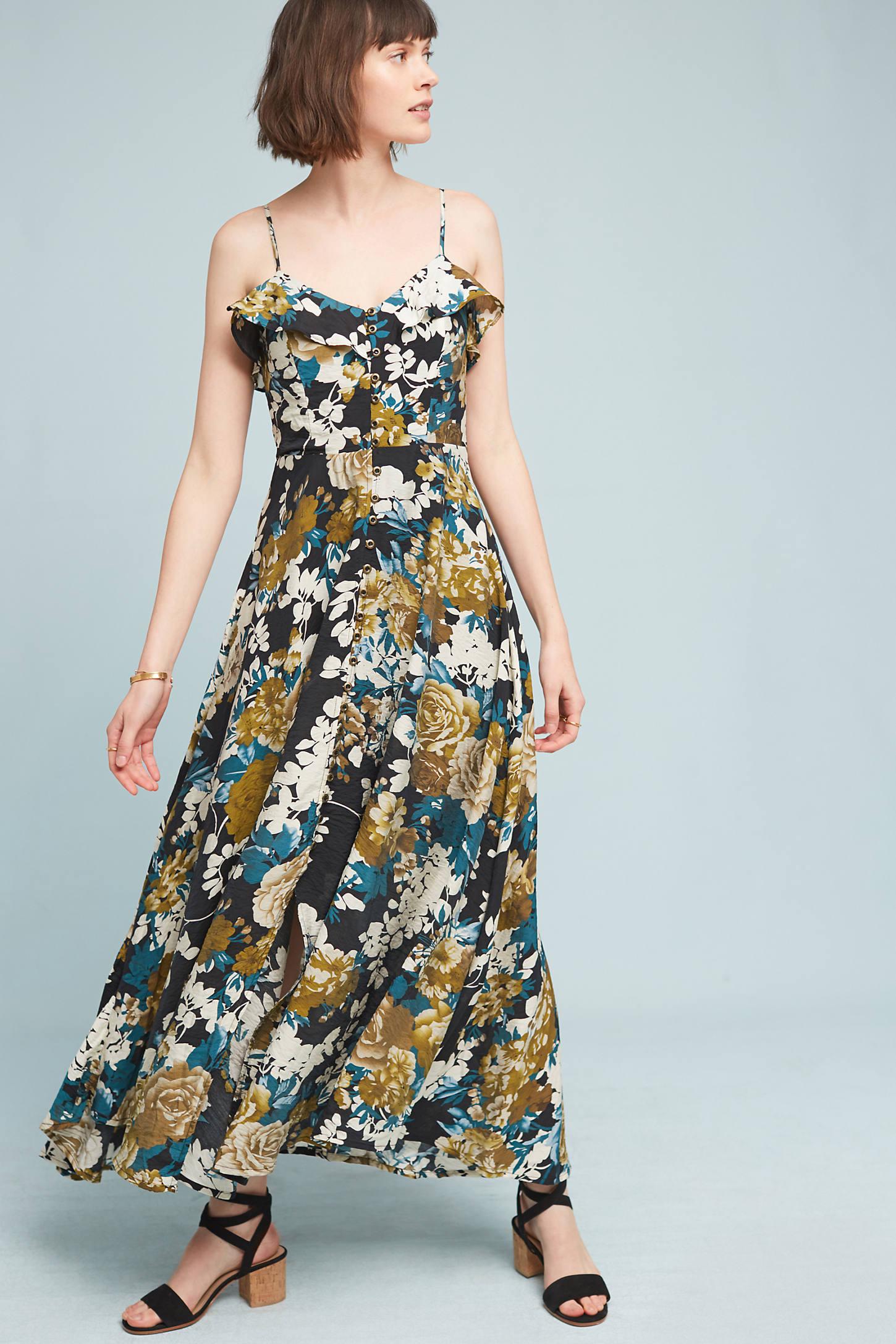 Mavis Floral Maxi Dress