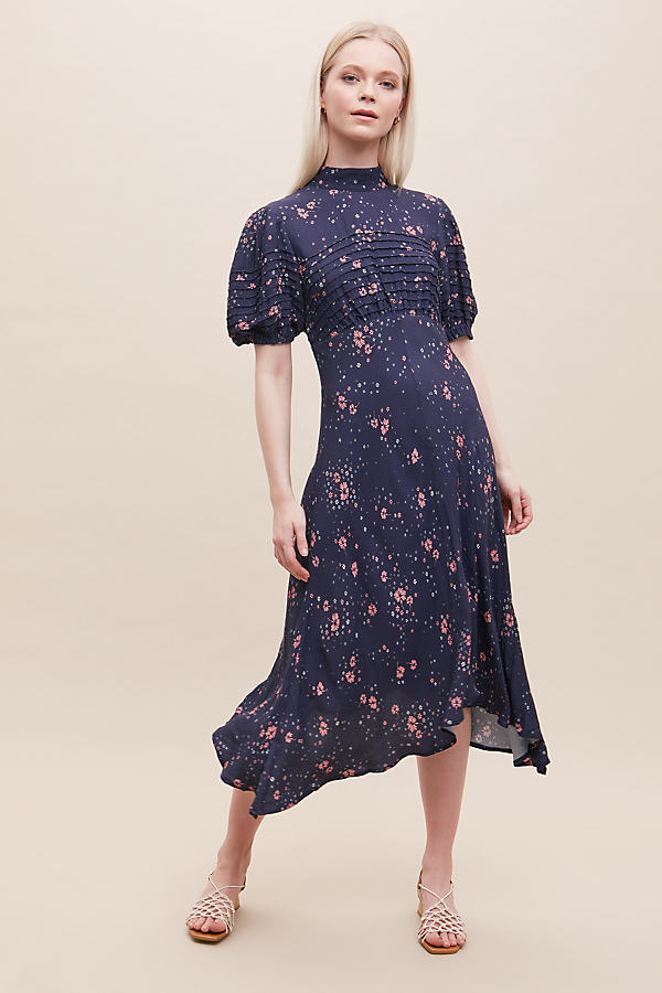 Ghost London Jenna Daisy-Print Dress