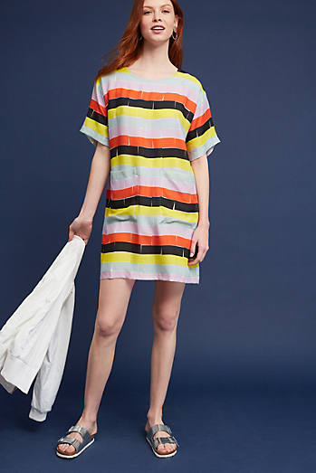 Bricks Striped Tunic Dress