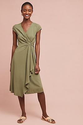 Slide View: 1: Rayna Wrap Dress