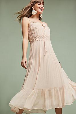 Slide View: 1: Elodie Silk Dress