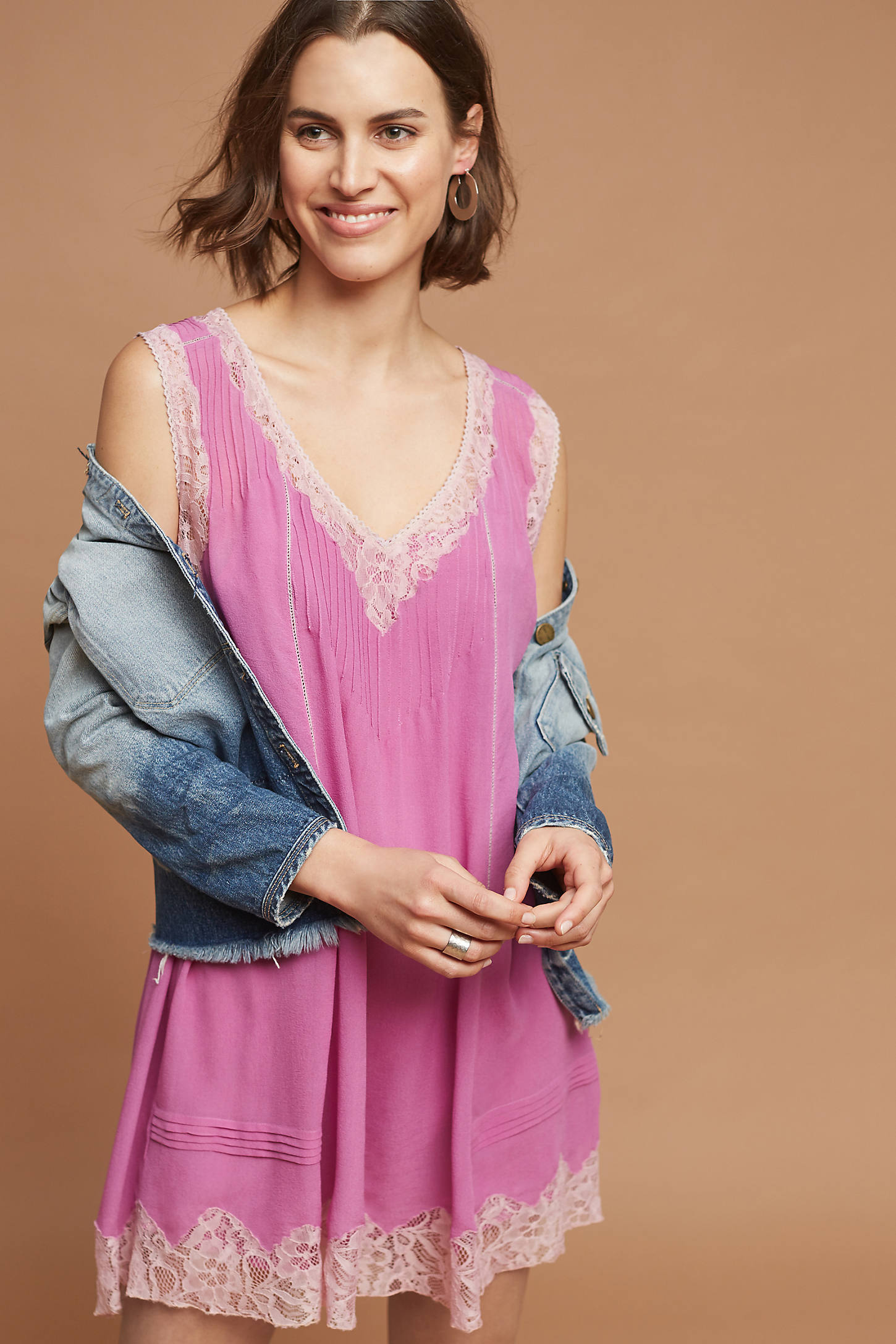 Fuschia Slip Dress