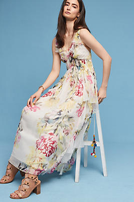 Slide View: 1: Maris Floral Maxi Dress