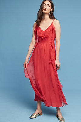 Slide View: 1: Valenna Ruffled Dress