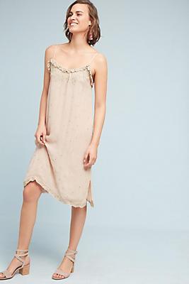 Slide View: 1: Suri Beaded Slip Dress