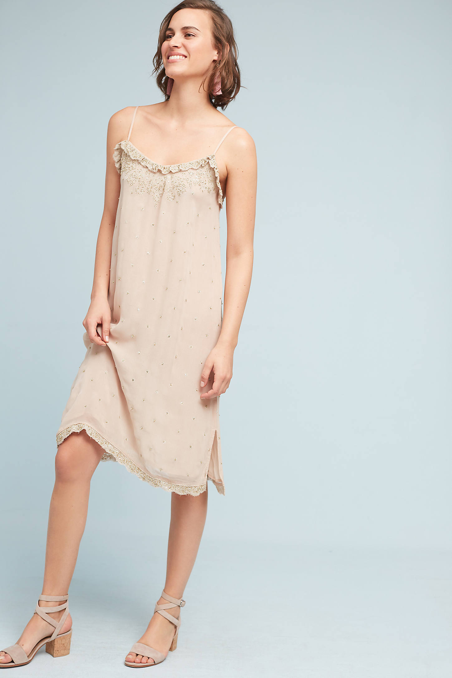 Suri Beaded Slip Dress